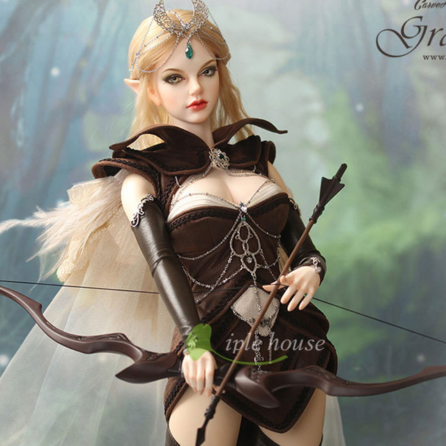 Grace elf bjd sd doll 1/3 body model reborn girls bjd High Quality 3