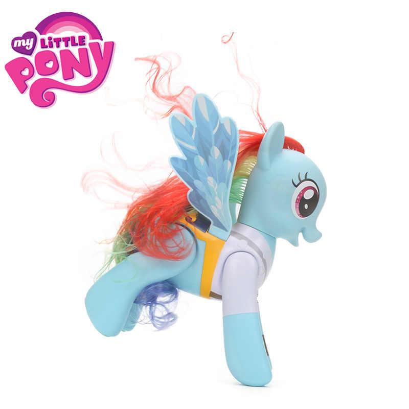 Elektronik My Little Pony Mainan Flip Berputar Priate Rainbow Dash Pvc Action Figure Persahabatan Adalah Sihir Mainan Colletible Model Boneka Little Pony Toys My Little Pony Toyspony Toy Aliexpress