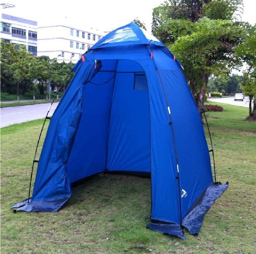 Single person portable move outdoor oversized shower tent changing tent mobile toilet in good quality accept