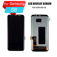 ЖК дисплей для samsung galaxy s8 ЖК дисплей с сенсорным экраном для galaxy s8 экран планшета сенсорный Ассамблеи