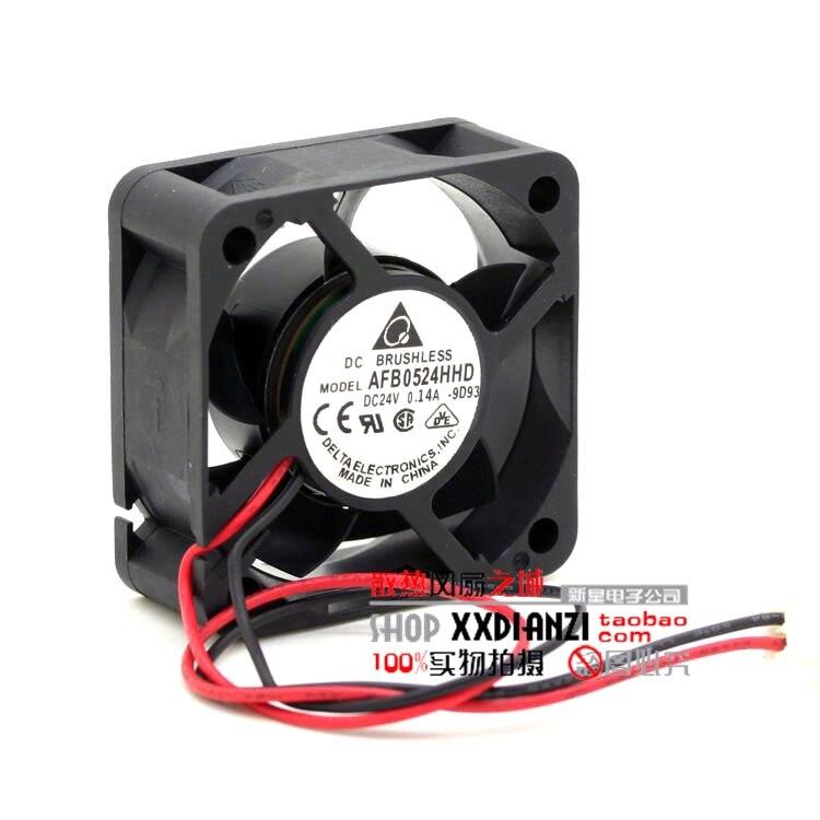 Бесплатная Delivery.5CM 5020 24 В 0.14A AFB0524HHD инвертор промышленный компьютер Вентилятор охлаждения