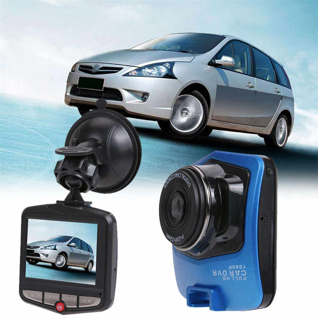 2019 GT300 Dash Camera Mini coche DVR Cámara FHD 1080P Digital Video registrador de Auto Dash Cam Monitor 140 grado HDMI