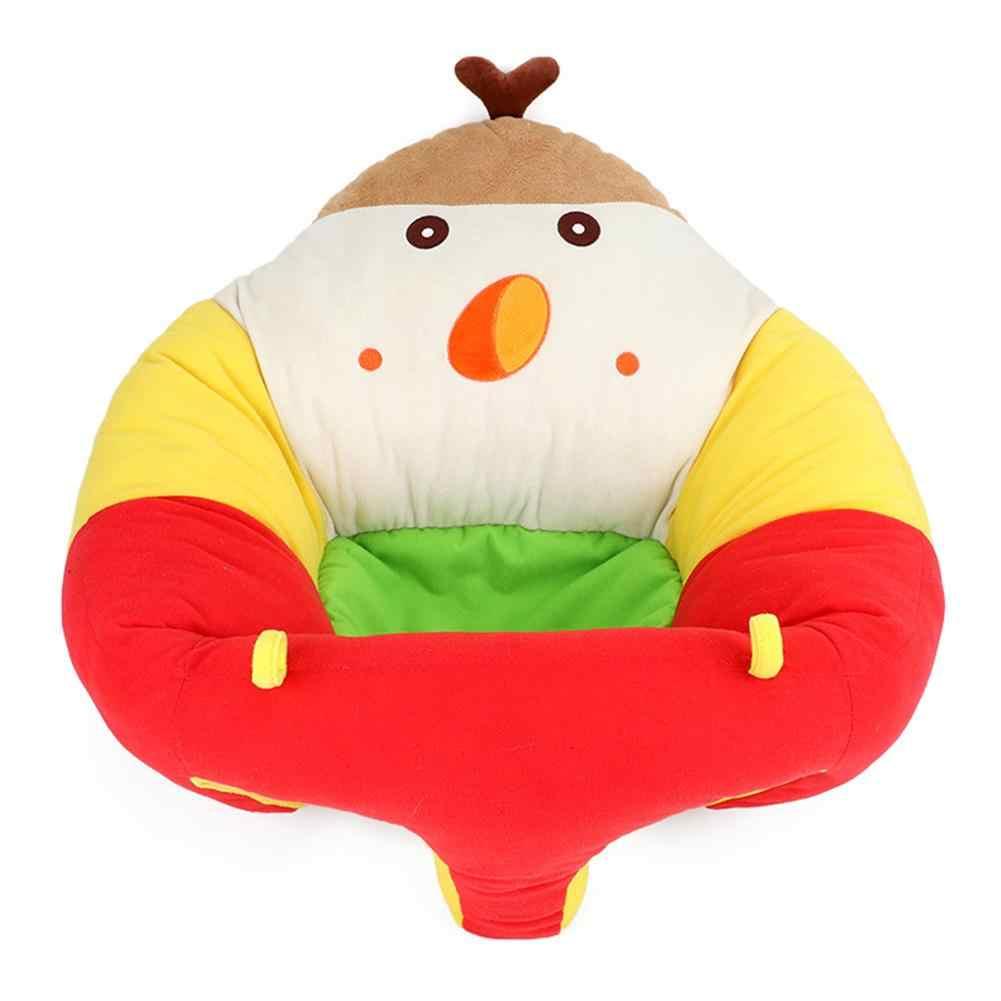 Asiento de bebé de dibujos animados para aprender asiento de sentado Silla de alimentación portátil de juguete de felpa para niños sofá de bebé de felpa para niños juguete