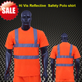 BIG SALE EN471 ANSI/SEA 107 AS/NZS  High visibility two tone  safety  reflective clothing hi vis shirt