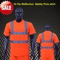 BIG VENDA EN471 ANSI/MAR 107 AS/NZS two tone segurança vestuário reflector de Alta visibilidade oi vis camisa
