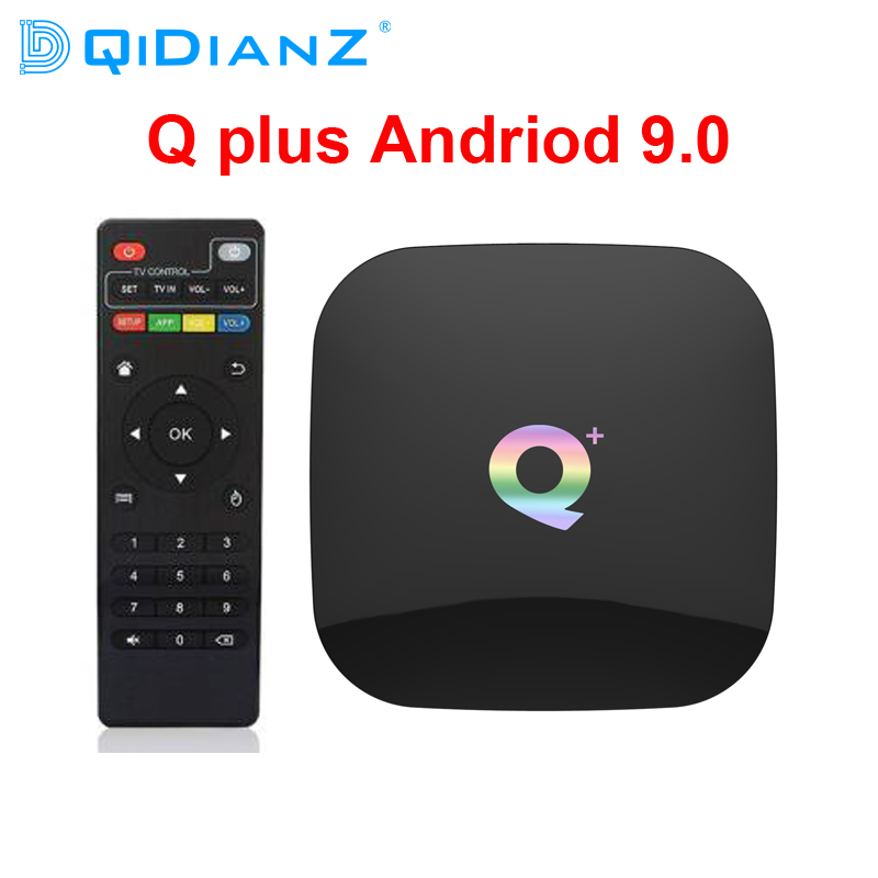 DQiDianZ Q Plus H6 Smart 6K TV Box Android 9 0 4GB RAM 32GB 64GB ROM