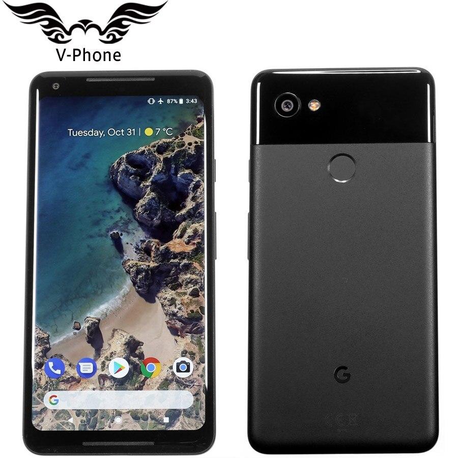 UE Versão Google Pixel 2 XL 6.0 ''Octa Núcleo 4 4g LTE Original Novo Android telefone Único sim gb 64 gb de RAM 128 gb ROM Smartphone DA UE
