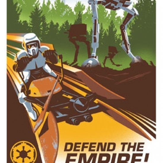Star Wars – Endor Laminated Poster Print (24 x 36)