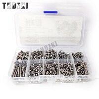 THDZKJ FORD Bronco RC Car Screw Stainless Steel Screws Box Repair Tool Kit for TRX4 Accessories F45