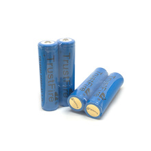 10pcs/lot TrustFire TR18650 3.7V 2500mAh Rechargeable Battery Lithium Batteries with PCB Protection Power Source For LED Flashlights