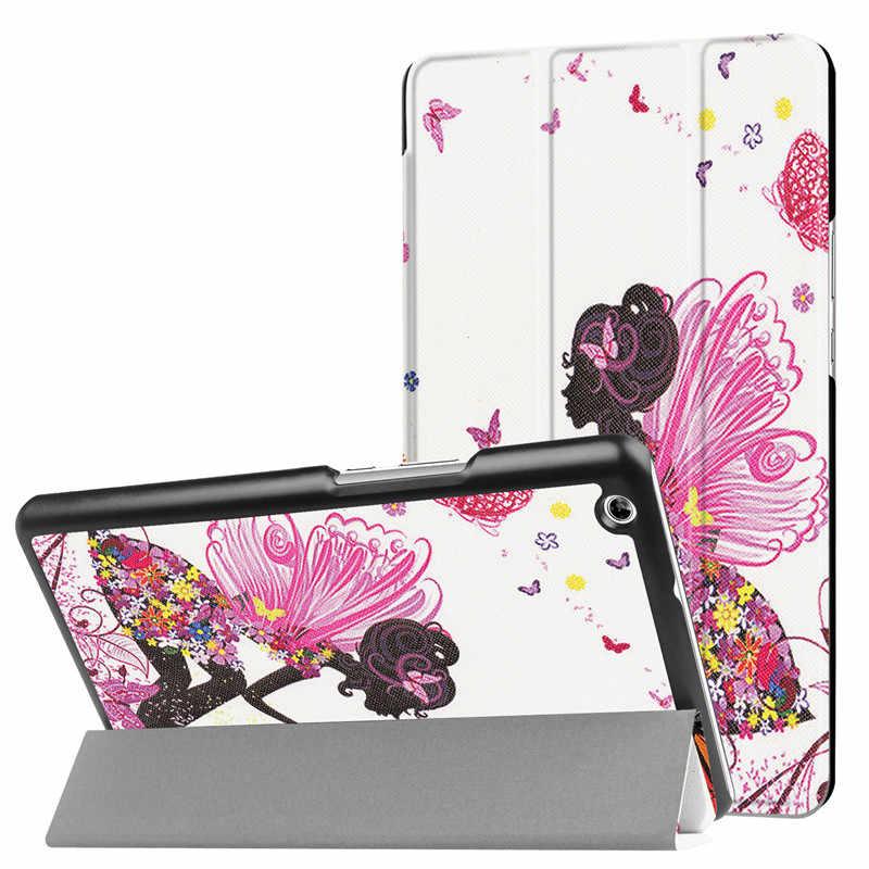 """Чехол для huawei MediaPad M3 Lite 8,0 """"CPN-L09 8 планшеты магнит стенд из искусственной кожи чехол для телефона + Экран протектор + стилус"""