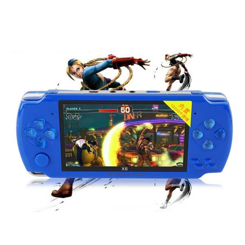 8G 4.3 inch Handheld Game Players MP4 Player Video Game Console Portable Games Player Ebook Camera Recording Gaming Accessories