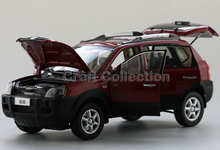Hyundai Tucson 2009 Diecast Cars Model Building Vehicle Classic toys Miniature Craft