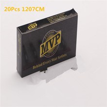 MVP Transparent Tattoo Needles With Membrane System 20Pcs/Lot 1207CM Soft Curved Magnum Tattoo Needles