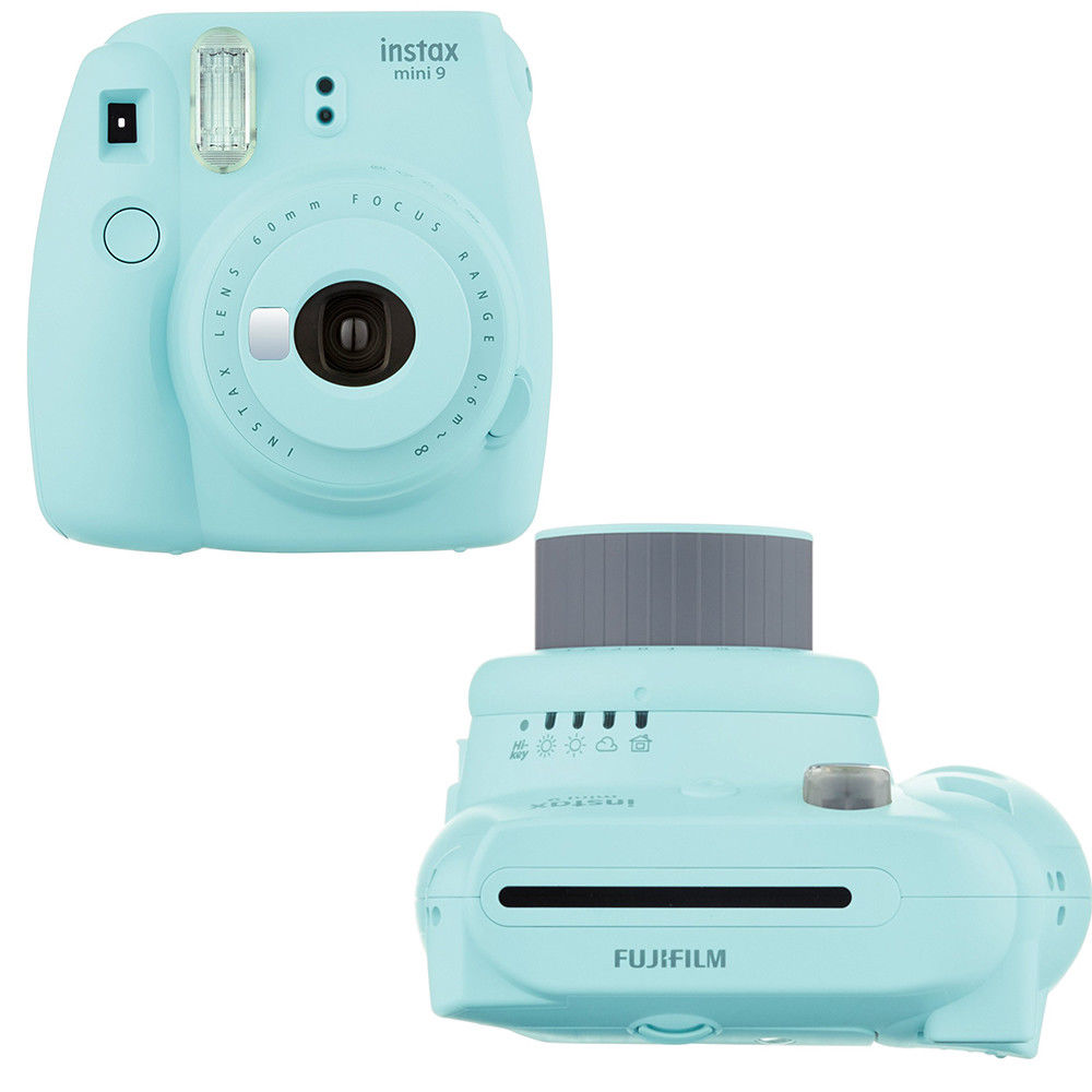 Tas Kulit Instan Untuk Polaroid Kamera Foto Biru International Fujifilm Instax Mini Jepitan Wooden Clip Gambar 9 Es 100 Tembakan Fuji 8 White