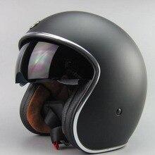2015 nuevo llega la marca ECE aprobado mens casco de la motocicleta casco con interior sun visor cristal retro capitán américa medio casco