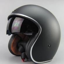 2015 new arrive brand ECE approved mens casco motorcycle helmet with inner sun visor glass retro Captain america half helmet