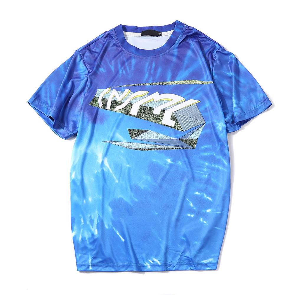 Camiseta Hombre Manga Corta Camiseta Hombre 2018 Camiseta para Hombre verano marca Streetwear hombres o-cuello Hombre Camiseta CT014