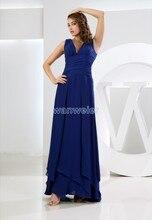 free shipping maxi dresses long 2014 royal blue vestidos formales brides maid dress plus size womens formal Bridesmaid Dresses