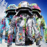 Neue Snowboard Jacke Frauen Winter Warme Mantel Snowboard Jacken Ski Sportswear Wasserdicht Winddicht Ski Jacke für Snowboard