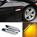 3 Cores LED Car Fender Lado Marcador Turn Signal Luz para BMW E60 E61 E81 E82 E87 E88 E90 E91 E92 E93 328i 325xi 325i 525i 528i