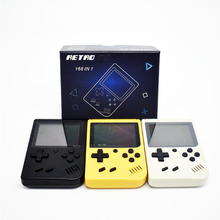 Children Handheld game players Retro mini games built in 168 in 1 retro 8 bit games AV out usb Game console best gift Portable