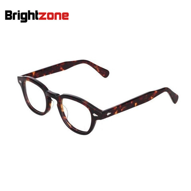 28833ece9b New Arrival High Quality Vogue Vintage brand Full Acetate Unisex Optical Frame  Eyeglasses Spectacles Frames Prescription Glasses
