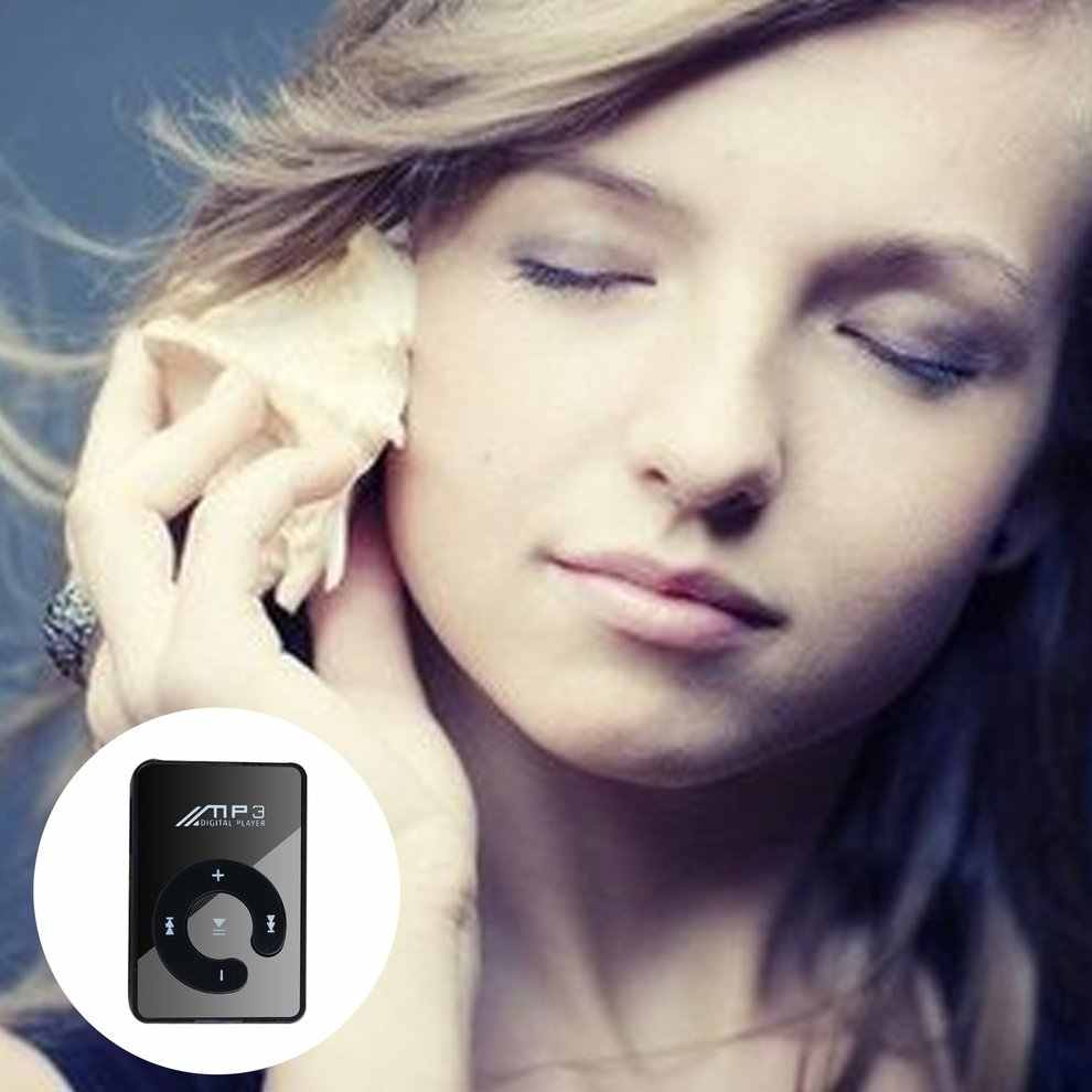 ポータブルミニクリップ USB MP3 プレーヤー音楽メディアのサポートマイクロ SD TF カードファッションハイファイ MP3 屋外スポーツ