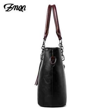 Luxury Handbags Women Bag Designer 2018 Big Ladies Hand Bag - Ladies Leather Handbag 1