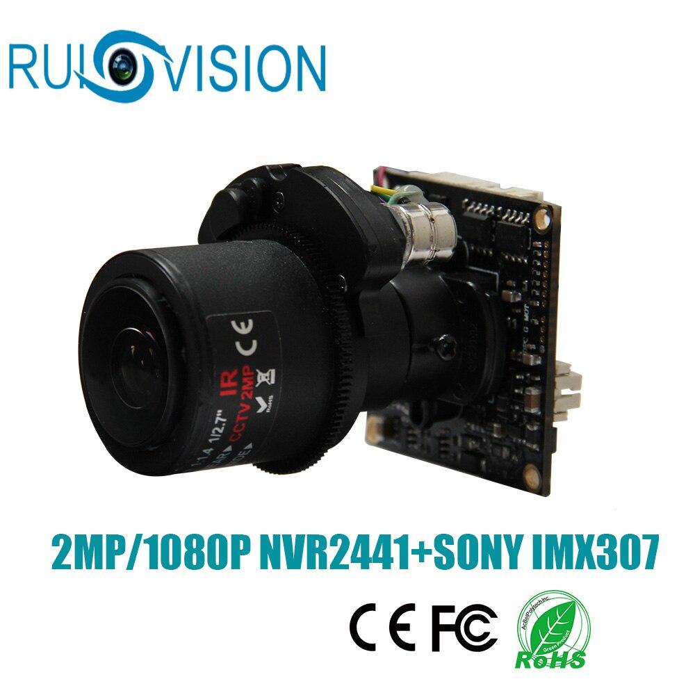 Новый AHD 1080 P/2MP 1/2. 8 SONY CMOS IMX307 Сенсор AHD Автофокус зум видеонаблюдения доска модуль камеры чип Бесплатная доставка