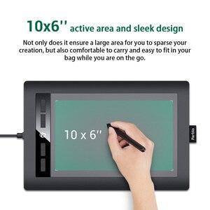 """Image 3 - Parblo tableta gráfica Digital de arte A610S, tablero de pintura de dibujo, bolígrafo sin batería de área activa de 10x6 """"con 8192 niveles de presión"""