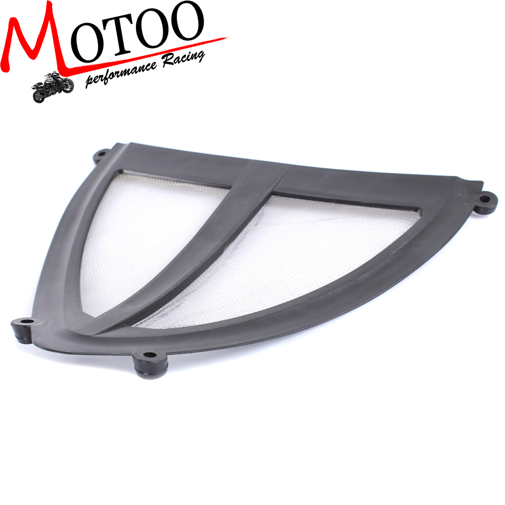 Motoo - free shipping Exhaust Header Grille Guard Cover Protector Kit For YAMAHA YZF R25 R3 2014 2015 2016 motorcycle arashi radiator grille protective cover grill guard protector for yamaha yzf r1 2004 2005 2006