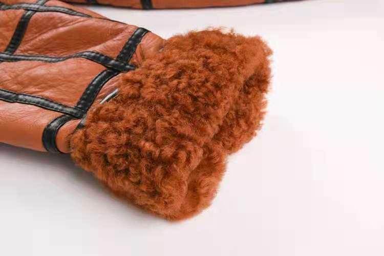 2020 new warm men's fur coat plus hat men's 100% real sheepskin coat, men's suit, leather jacket, thick, size custom