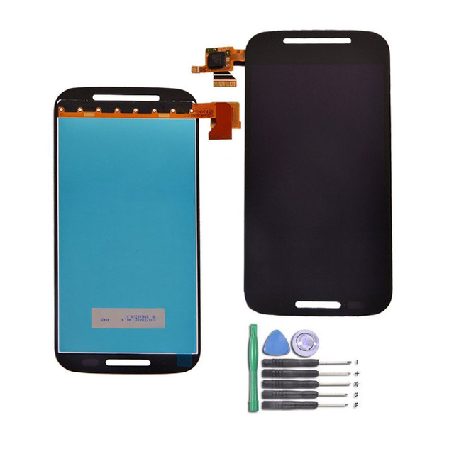 Mobile Phone Xt1021 Display Lcd Assembly For Moto  E Xt1022 Screen 2017 New Product No Dead Pixcel Touch Screen Lcd Complete