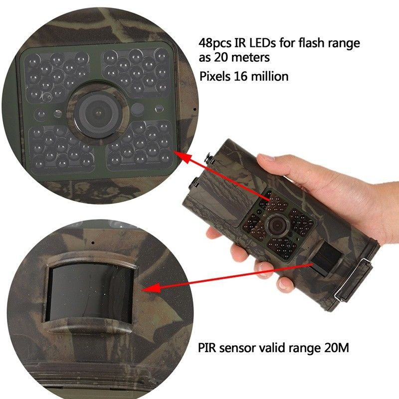 16MP Animal Wildlife scout guard hunting trail camera HC700G Digital Infrared Wild scouting for photo traps hunting camera HC700 (7)
