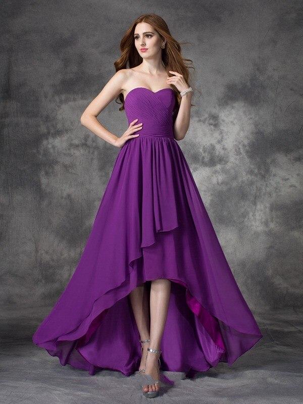 Excepcional Vestidos De Fiesta Highlow Patrón - Colección del ...