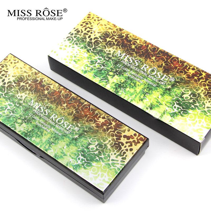 2016 MISS ROSE Shimmer 14colors diamond bright colorful eye shadow super flash paleta Glitter eyeshadow pallete matte Eyeshadow5