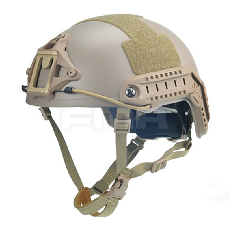 2019 FMA Tactical Skirmish Airsoft Ballistic High Cut XP Helmet MOLLE Gear Military Heating Combat TB960
