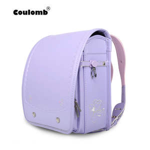 Coulomb Book-Bag Back-Pack Orthopedic Childen Randoseru Girl Kids Japan Gift PU Hasp