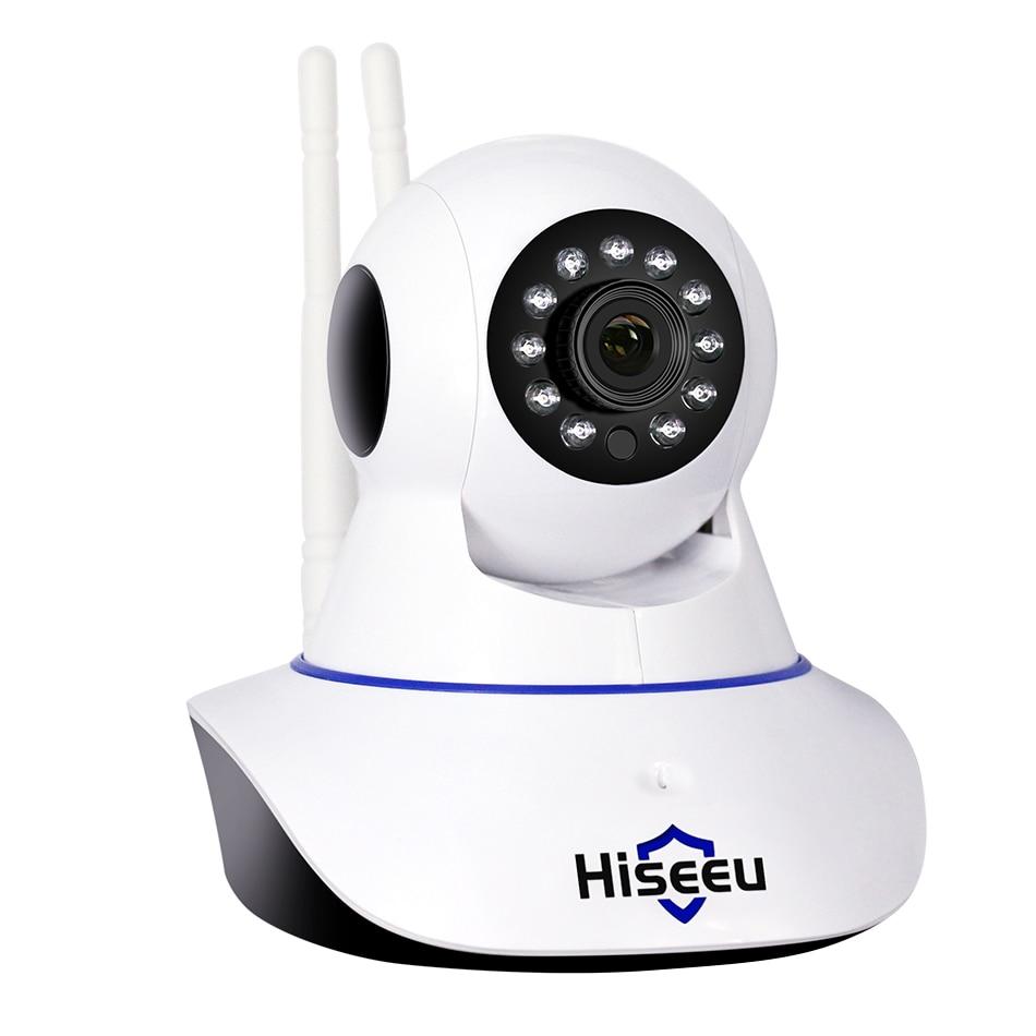2MP Wifi IP Caméra support wi-fi AP mode 1080 P IP Caméra réseau sans fil CCTV WIFI P2P IP Caméra 1920*1080 P FH1C Hiseeu