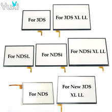 YuXi 5pcs For NDSL NDSi New 3DS XL LL Touch Screen Display Digitizer For Nintendo DS NDS Lite Replacement stylus spring straps for nds ndsi nds lite 4 strap pack