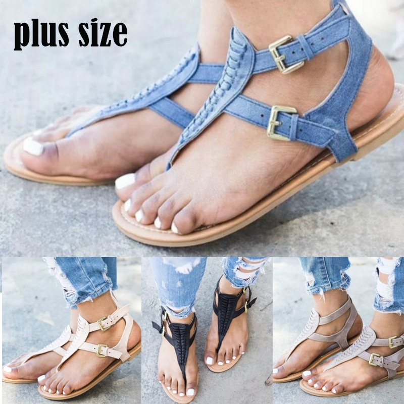 9678d4d55 Buzzyfuzzy Summer Beach Women Sandals Bohemia Gladiator Leisure Female Flip  Flops Ladies Footwear Casual Women Summer Shoes-in Women s Sandals from  Shoes on ...