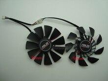 Бесплатная доставка EVERFLOW T129215SU DC 12 V 0.5A VGA карта вентилятор охлаждения для Графика карты ASUS GTX780 GTX780TI R9 280 290 R9 280X 290X
