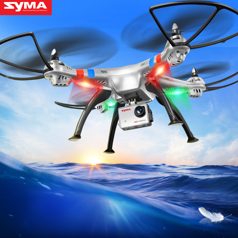 Original syma X8G RC Drone Helicopter with 8Mp HD Camera 2.4G Remote Cotrol Quadcopter Shatter Resistant Aircraft
