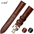 Fashion Watch Bands Watchbands Buckle Brown Black Strap Leather Watch Bands Straps Weatband Men Women 18mm 20mm 22mm 26mm