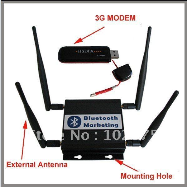 Mobile Bluetooth Advertising Devices (Pro+ 3G/GPRS)