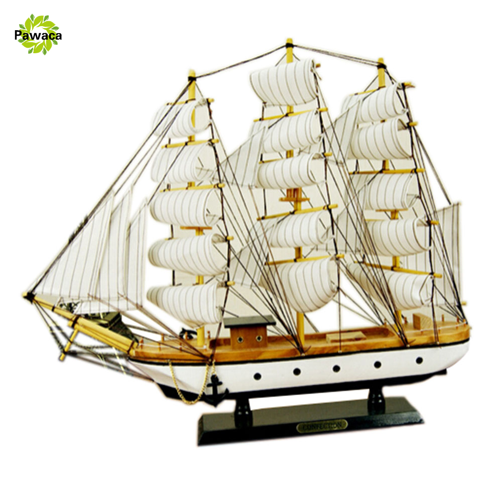 2017 New Model Free shipping Scale Classics Antique Wooden Sailingl Boat Model kits HARVEY Wooden Ship Assembly kit Home Decor