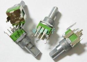5 шт./лот импортированный из Тайваня Alfa RK09 прецизионный потенциометр B10K одинарный вал длина изгиба 15 мм