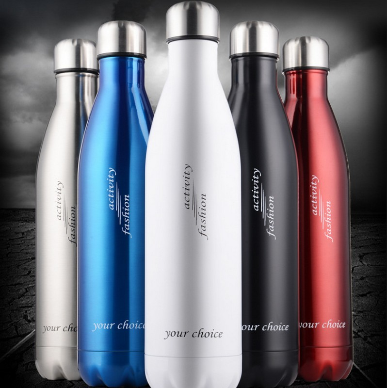 350 500ML TOP QUALITY COKE BOTTLE CREATIVE INSULATION CUP WITH HIGH GRAD STAINLESS STEEL VACUUM BOTTLE