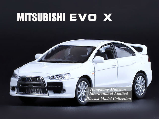 Superbe 1:36 Scale Alloy Diecast Metal Car Model For MITSUBISHI LANCER EVO X  Collection Model
